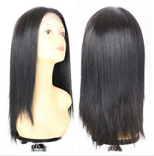 New Fashion Straight QUEEN Lace Front Synthetic Hair Wigs Synthetic Wigs18 Inch