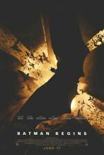 Batman Begins Adv B Orig Dbl Sided Movie Poster 27x40