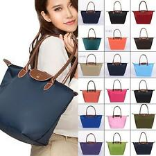 Colors Women WaterProof Handbag Pliage Nylon Shoulder Tote Handbag Shopping Bag