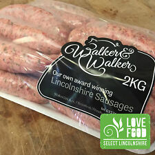 Pack of Lincolnshire Pork Sausages - BBQ Sausages - Sausage Packs - Sausage Meat