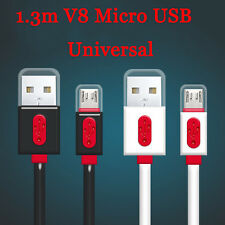 1.3m/4ft Universal 2A Micro USB A to USB 2.0 B Data Sync Fast Charger Cable Cord