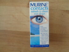Murine Contacts Refresh (Wet) & Clean Eye Drops - 15ml