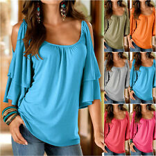 Sexy Women Summer Loose Top Short Sleeve Blouse Ladies Casual Tops T-Shirt New g