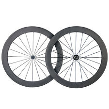 700C Ultra Light 50mm Carbon Clincher Road Bike Wheels Cycling Bicycle Wheelset