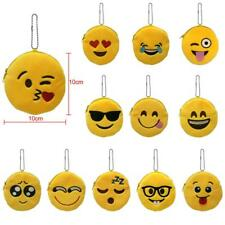 Cool Lovely Girls Ladies Mini Emoji Coin Purse Case Plush Bag Handbag Wallet