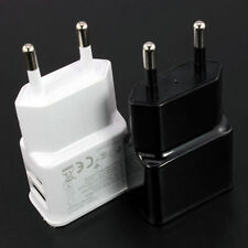 EU Power Plug Charger Travel USB 2Port Charger Wall Plug Adapter For Phone PC