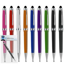 Roller Ball Stylus Pen With Rubber Tip For Yarvik TAB260 GoTab Velocity 7 inch