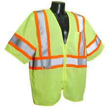 Radians SV22-3ZGM Lime Green Economy Class 3 Two-Tone Safety Vest *Free US Ship*