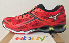 MENS MIZUNO WAVE CREATION 15 RED CAMO SZ 8.5 BLACK new prophecy 2 enigma rider