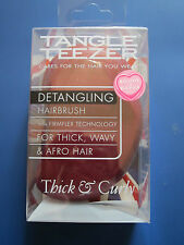 BNIB New Tangle Teezer Detangling Hairbrush for Thick,Wavy,Curly,Afro Hair,Red