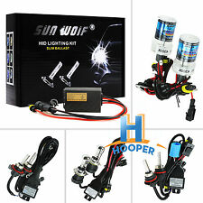 AC HID Conversion Xenon Kit Foglight Snowlight Headlight White Blue Bulb&Ballast