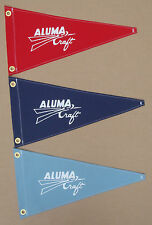 AlumaCraft Vintage Style Reproduction Pennant Flag Aluminum Boat Aluma Craft
