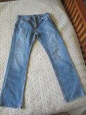 Levis 559 Relaxed Straight Mens Jeans Size 32 x 34 Cotton/Polyester