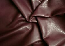 Cowhide for leathercraft Wine Small pieces  Barkers Hide and Leather Skins N140