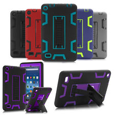 "For Amazon Kindle Fire 7"" 2015 5th Gen w/Stand Kids Safe Shockproof Case Cover"