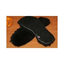 Sheepskin insoles genuine black