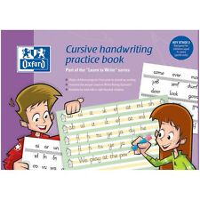 New Oxford Cursive Handwriting Practice Learn To Write Book KS2 (A36020)
