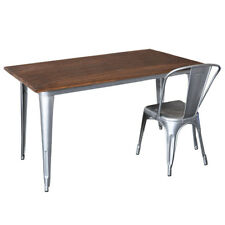 Steel & Timber Replica Xavier Pauchard Tolix Table Restaurant Dining Cafe NSW