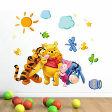 Cartoon Decor Winnie the pooh Wall Sticker Wallpaper For Kids Baby Room Nursery