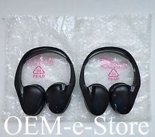 2007 to 2014 Cadillac Escalade Buick Enclave Wireless ( TWO ) Headphones Set OEM