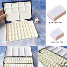 40 pcs Water Colour Artist Empty Pan Full or Half Pans For Watercolour Painting