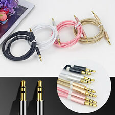 1M Fashion Audio Plug Line Tools Useful Convenient Multicolor Alloy High Quality