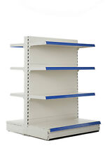 Shop Shelving, 1.6m Gondola Bay, 570mm base shelf & 3 x 470mm shelves
