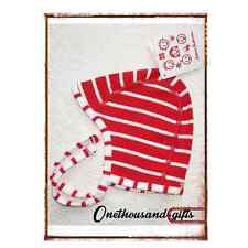 NWT Hanna Andersson Pilot Cap Red/ White Stripe  Sz XS, S