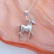 Horse Pendant Charm and Necklace- Free Shipping