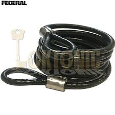 Federal FD3016 6.3mm Spiral Steel Double Loop Twisted Light Duty Cable 1.8m