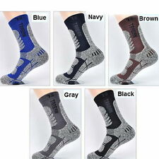 Mens Long Socks Hiking Climbing Outdoor Sports Casual Quick Dry Comfortable