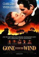 Gone With The Wind 8x10 11x17 16x20 24x36 27x40 Movie Poster Vintage Gable A