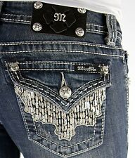 Miss Me Sequin Boot Stretch Jean *NWT*