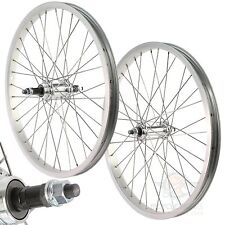 20X1.75 Front Gear Rear Wheel Bicycle Alloy Rim Back MTB Mountain Bike Pair 20""
