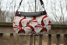 CHIRSTMAS HOLIDAY LEOPARD SANTA HAT  *SKIRT ONLY* FOR THIRTY ONE SKIRT PURSE