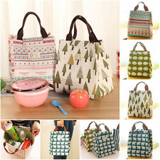 Portable Insulated Thermal Lunch Bag Tote Storage Box Outdoor Picnic Case Tote g