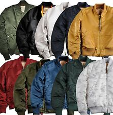 Alpha Industries MA-1 VF59 Men's Bomber Jacket Flight Bomber Jacket MA1