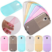 Translucent Colorful TPU Glossy Skin Soft Case Cover For Samsung Galaxy Phones