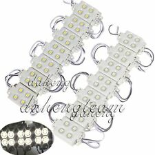 Super Bright LED Module Light 5050 SMD 4-LED White RGB Waterproof Injection Lamp