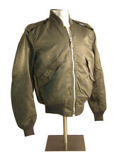 ALPHA L2B FLIGHT JACKET - VINTAGE GOVERNMENT CONTRACT  SAGE - NEW OLD STOCK