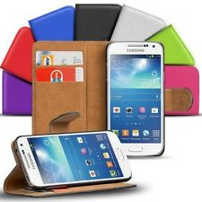 Book Flip for Samsung Galaxy S4 Mini Mobile Phone Case Cover Wallet Protector