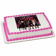 WWE Total Divas Edible Icing Image FROSTING SHEET Cake Topper