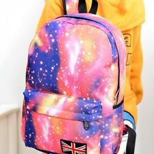 Fashion Unisex Stars Universe Space Printing Backpack School Book Backpacks