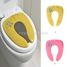 Portable Folding Child Toilet Seat Potty Chair Pad Cushion Baby Training Toilet