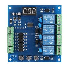 4-Channel Programmable Relay PLC Board Trigger Delay Timer Module DC 24V J1Z9