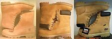 NEW! MEN'S 8 INCH WHEAT TIMBERLAND MOTORCYCLE WORK BOOTS