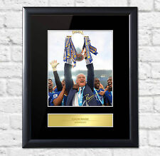 Claudio Ranieri Signed Mounted Photo Display Leicester City Champions
