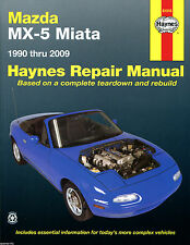 Haynes Car Workshop Repair Manual Mazda MX-5 Miata (90 - 09)