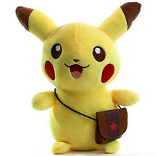 Pokemon Cute Pikachu Plush Toys Soft Stuffed Doll Pocket Monster Kids Gift