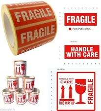 Fragile Stickers This Way Up Shipping Labels Handle With Care Parcel Stickers